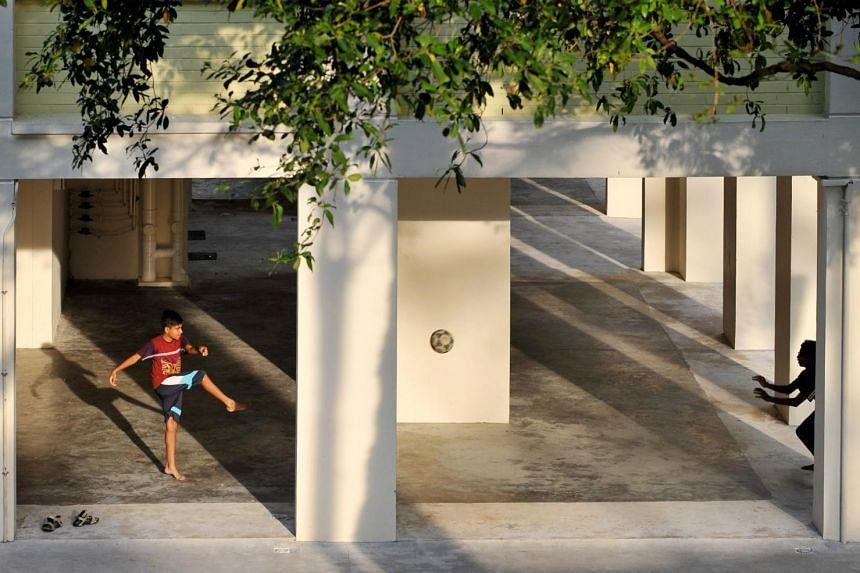 Void Deck, July 2012, by Alphonsus Chern.