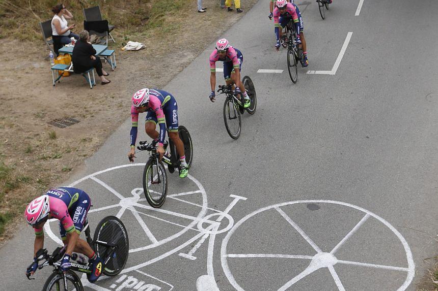 Tour de France Stage 10.