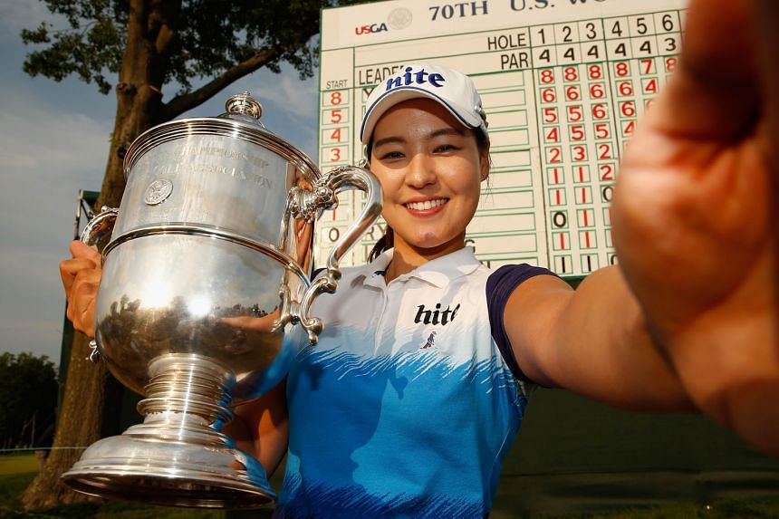 Chun In Gee's win sees her make a leap to No. 10 in the world. The South Korean honed her skills after her initial shots drew teasing from her father.