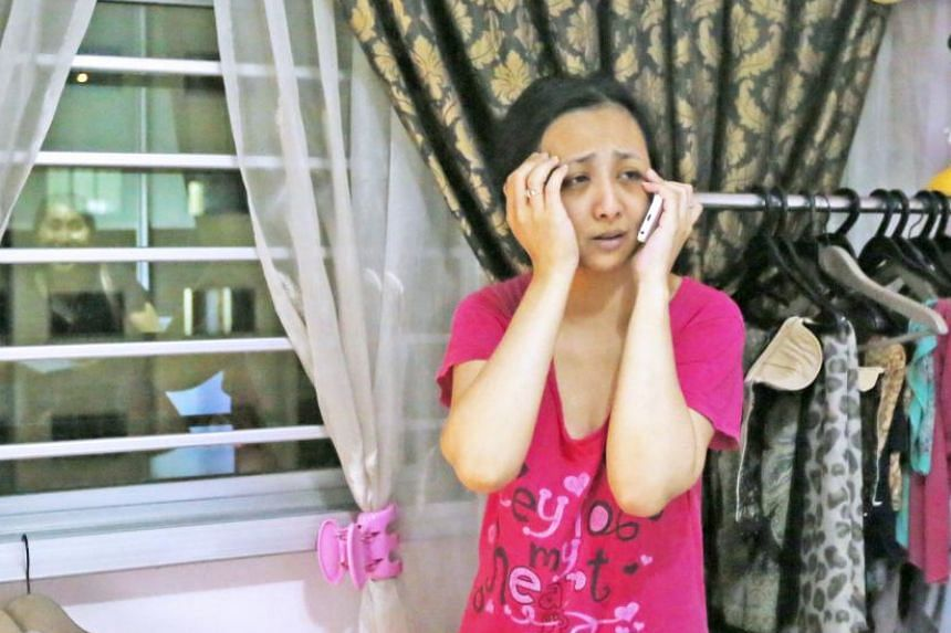 For almost 30 minutes, Madam Suhadah Jumadi, who was with her three children, had to deal with a stranger who had broken into her sixth-storey home via the master bedroom window.