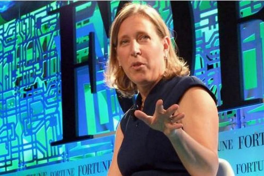 YouTube CEO Susan Wojcicki speaks at the Fortune Brainstorm Tech conference in Aspen, Colorado.