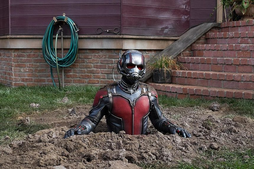 Hope van Dyne (played by Evangeline Lilly), the daughter of Ant-Man suit inventor Hank Pym, argues she should be the one to take over as the superhero.
