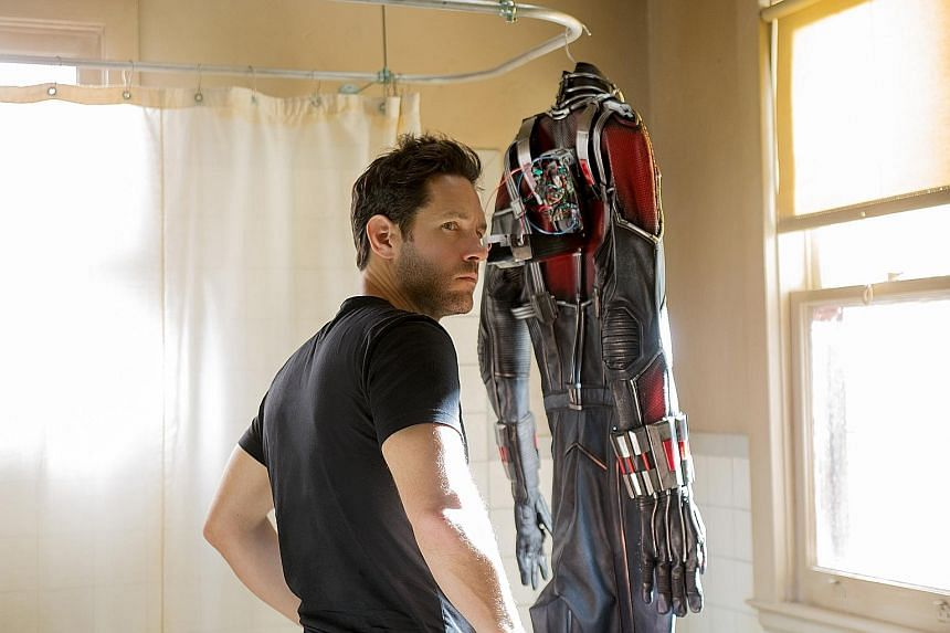 Paul Rudd went on a year-long diet and exercise regimen to fit into the Ant-Man suit.