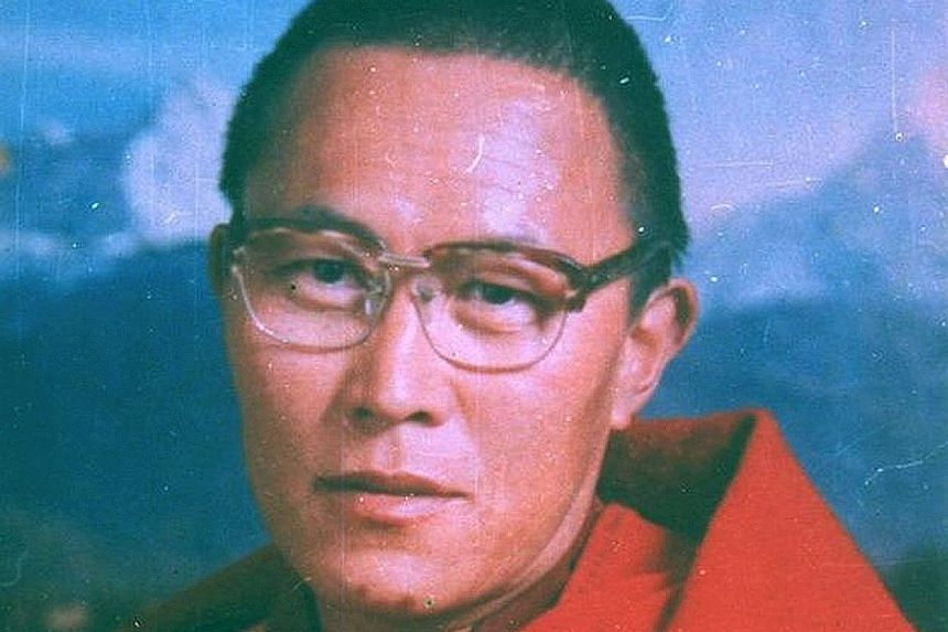 An undated picture of Tenzin Delek Rinpoche. The cause of his death remains unclear.