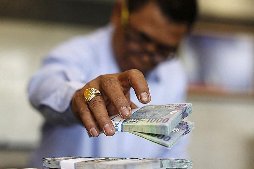 Bank Indonesia has lost about US$7.5 billion of its foreign exchange reserves from February to last month, partly to defend the rupiah.