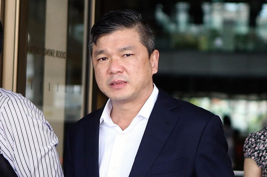 Mr KK Fong (left) is being sued by businessman Thong Soon Seng (right) for the repayment of a loan that was made last year.