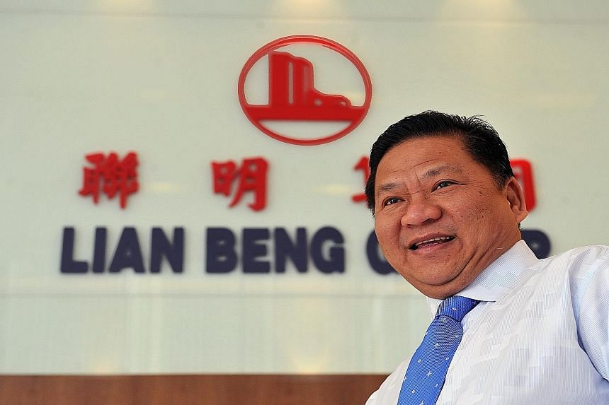 Lian Beng chairman and managing director of Ong Pang Aik and the other two executive directors, who are his sisters - Ms Ong Lay Huan and Ms Ong Lay Koon - were paid between $2 million and $5.5 million each in the 2014 financial year.