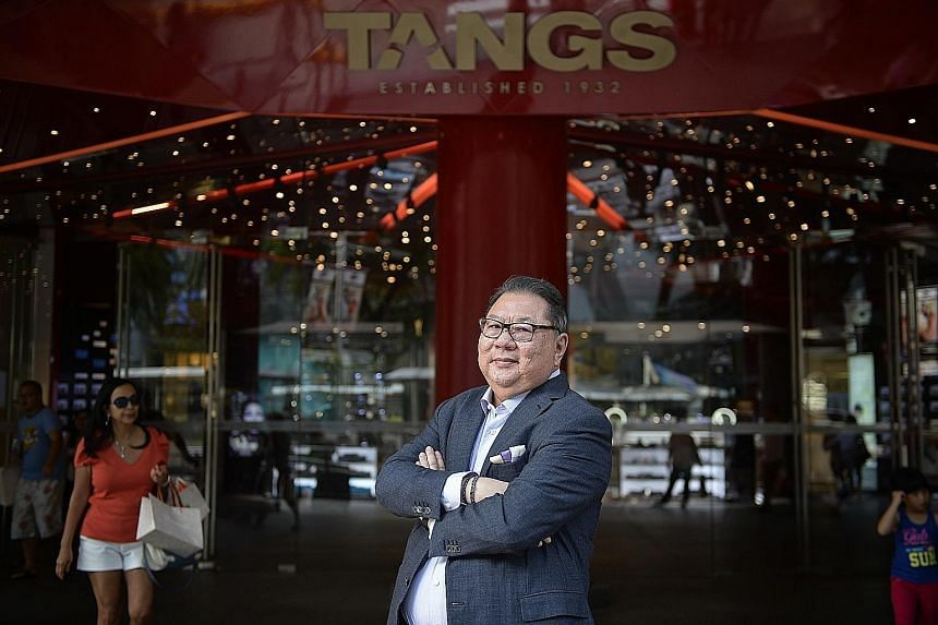 """CK Tang chairman Tang Wee Sung says the department store made the mistake of going """"a little more mainstream"""" over the past decade and lost some of its customer base - the mid-20s, and professionals."""