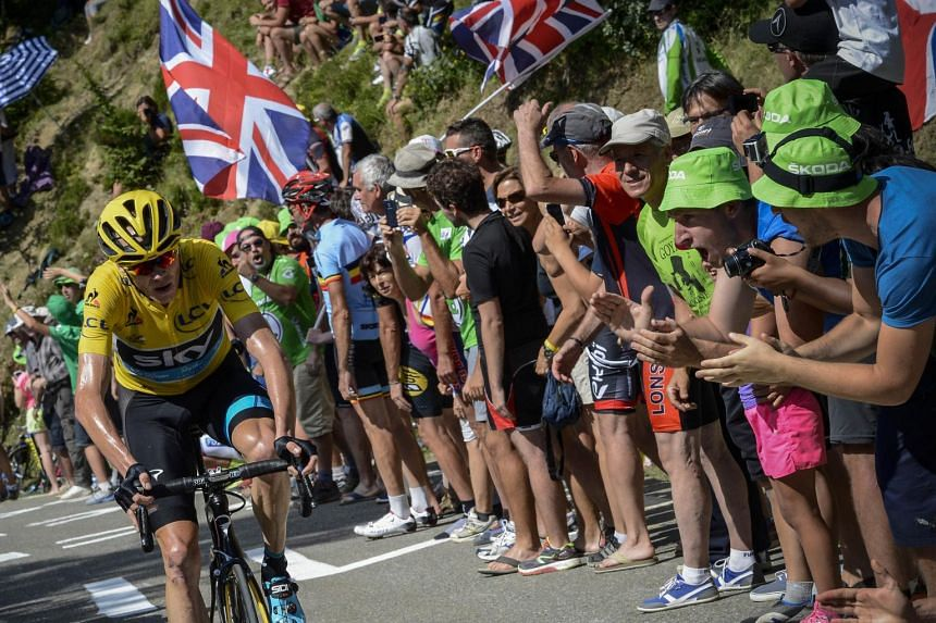 Froome accelerated away after a 15km climb to break the resistance of almost all his rivals.