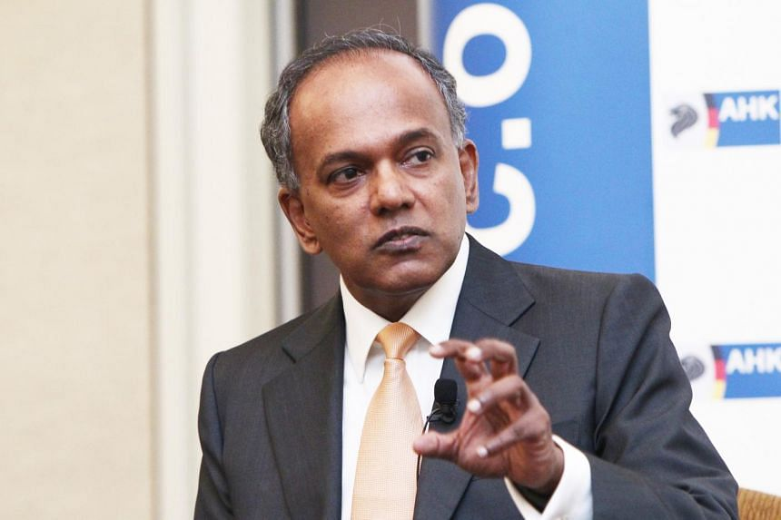 Minister for Foreign Affairs and Law K. Shanmugam