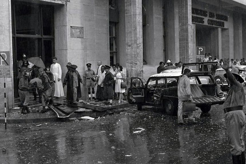 The March 10, 1965 bombing of MacDonald House in Orchard Road was the deadliest in Indonesia's Konfrontasi campaign, and remains post-war Singapore's most serious bomb attack. The blast killed three people and injured 33.