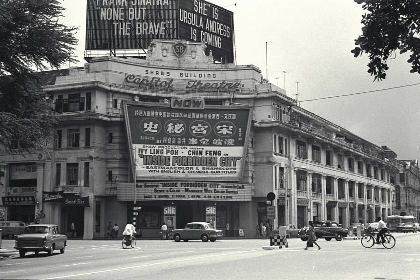 Singapore's passion for cinema has only grown since Rainbow Man, the first talkie to be shown in the country, was screened at the Alhambra theatre in Beach Road in 1929. Many generations have enjoyed Westerns and Hong Kong action dramas at the Capi