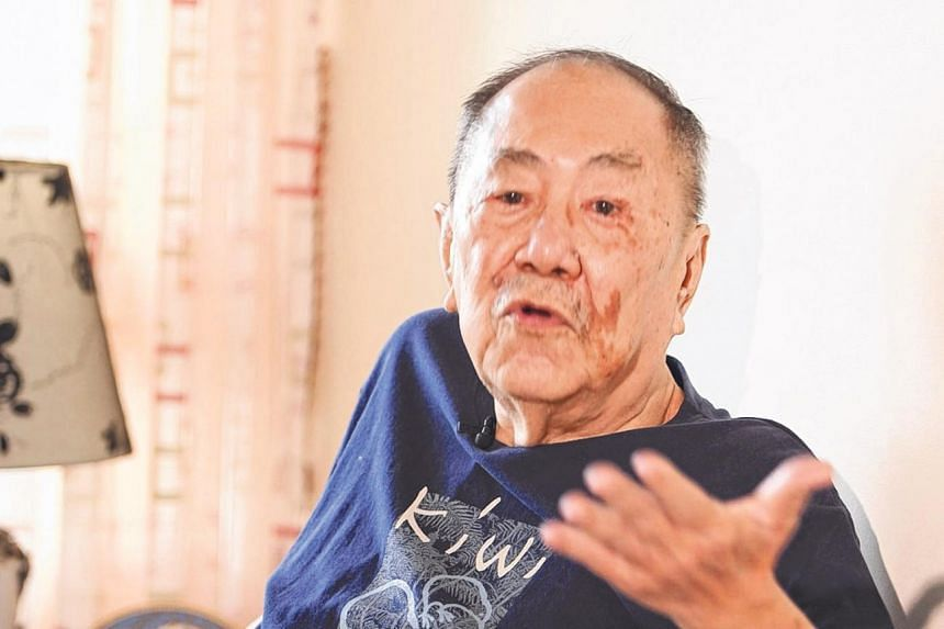 Major (Ret) Foong Fook Kay (above) received his news during the Occupation from a co-tenant, while for Mr Wong Hiong Boon relied on chatter at the market or information from friends.