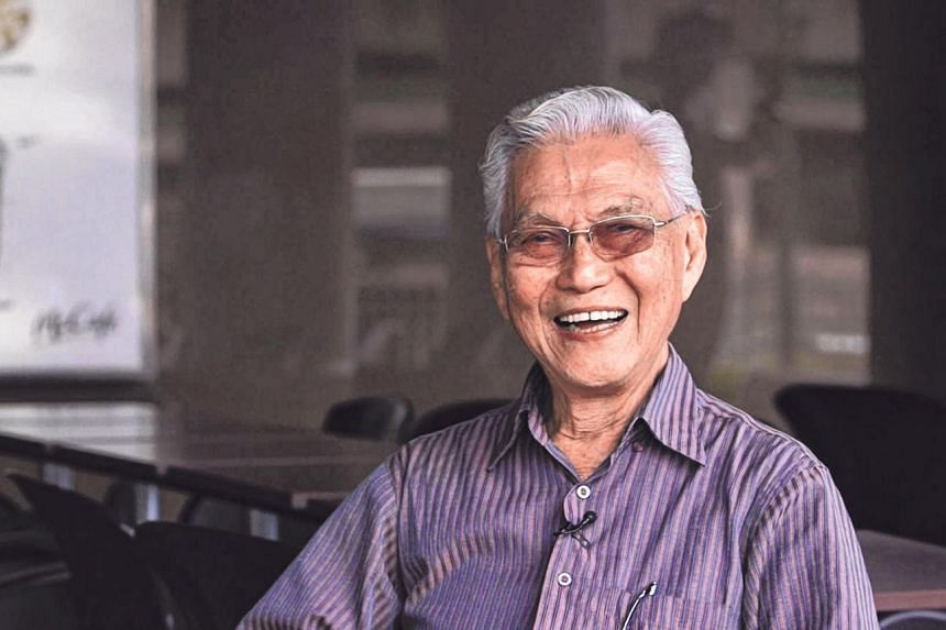 Major (Ret) Foong Fook Kay received his news during the Occupation from a co-tenant, while for Mr Wong Hiong Boon (above) relied on chatter at the market or information from friends.