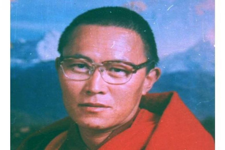 Dozens of Tibetans protested the death of prominent Tibetan monk Tenzin Delek Rinpoche (above) outside Chuandong prison where he died, in Sichuan province on July 15, 2015.