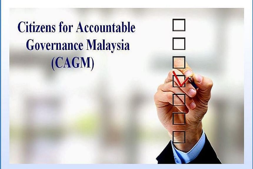 The Citizens for Accountable Governance Malaysia says its claims of millions being deposited into PM Najib's accounts were a hoax.