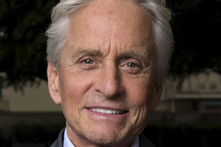Actor Michael Douglas