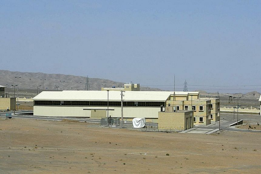 An Iranian nuclear power plant 270km south of Teheran. Six world powers and Iran have agreed to significantly limit Teheran's nuclear ability for more than a decade in return for lifting international sanctions.