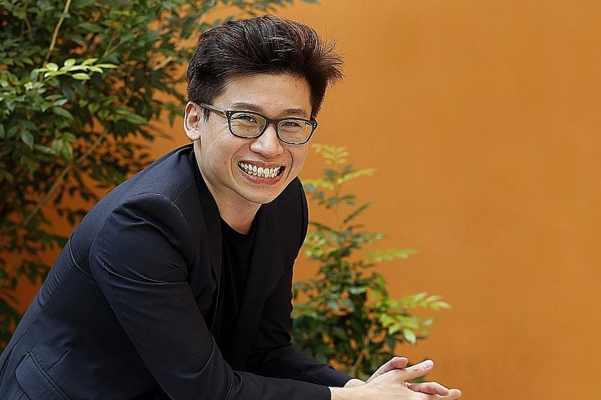 Mr Joseph Phua, co-founder of Paktor, which has over five million registered users.