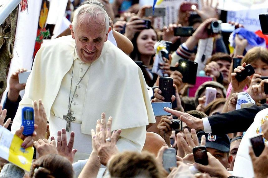 Pope Francis pulled in 29,000 new followers each day during his recent eight-day trip to South America.