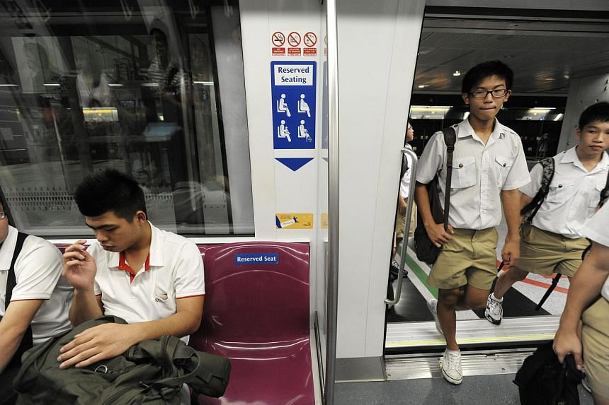 Public transport commuters are behaving more graciously, according to a new survey.