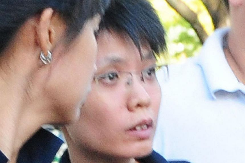 Ang Soo Hoon (top) and property agent Celine Ng Swee Peng (above) had been close friends since 1995. After the killing, Ang lied that Ms Ng was missing and even joined Ms Ng's mother and brother to make a police report.