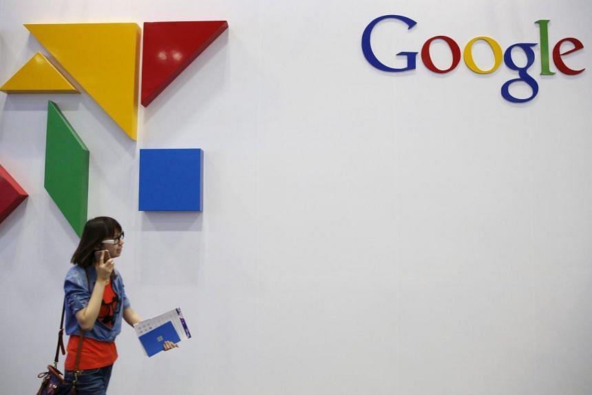 Google said second-quarter net income climbed 2 per cent to US$3.4 billion (S$4.6 billion).