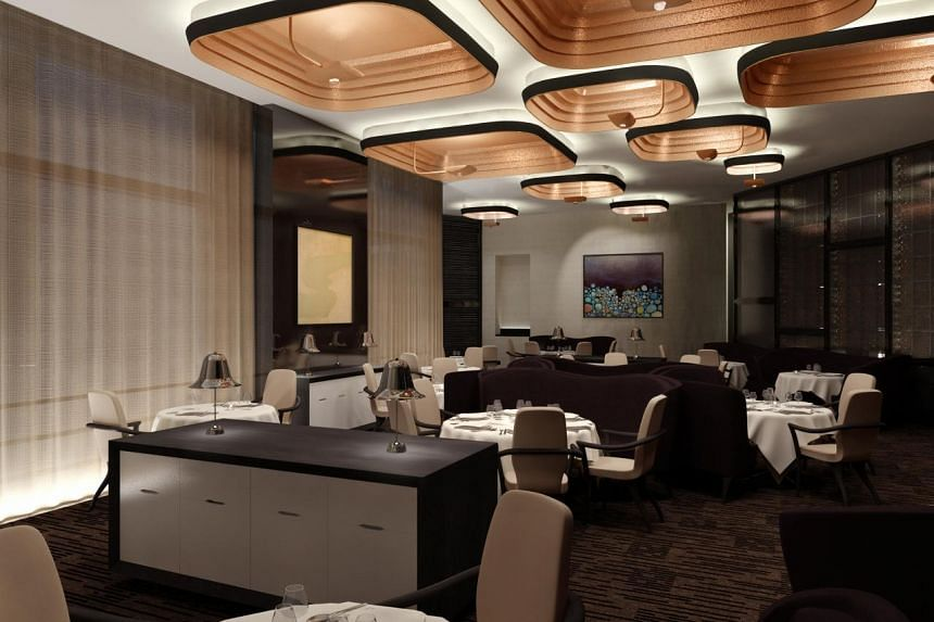 Guy Savoy restaurant at Marina Bay Sands which closed in February.
