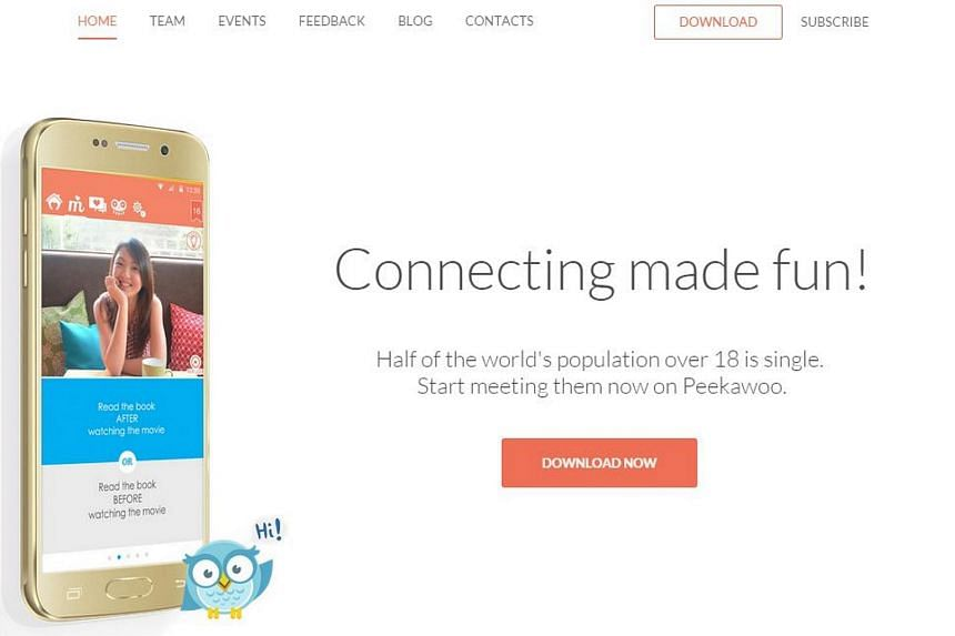 Peekawoo is one of several dating apps set up by Southeast Asian start-ups to cater to the millions of tech-savvy, time-poor millenials living in largely conservative societies where dating too often is frowned upon and casual sex is taboo.