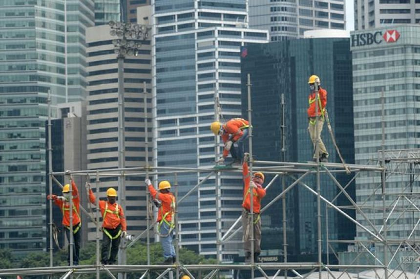 The ADB has cut its 2015 growth forecast for Singapore to 2.8 per cent