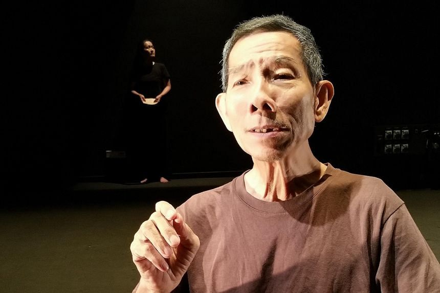 Actor Yong Ser Pin (left) reminisces about his life in The Struggle: Years Later.