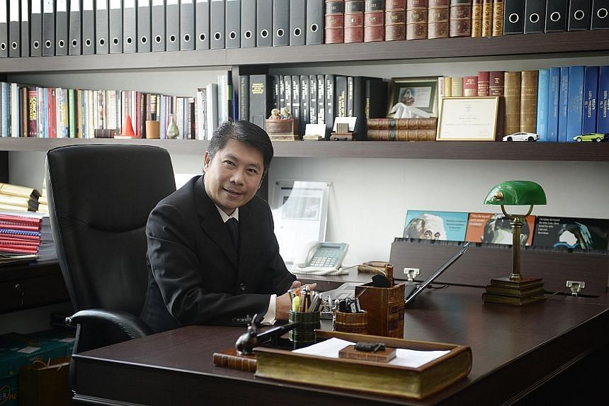 """Technology has already driven many aspects of legal work """"paperless"""", says lawyer Chia Boon Teck."""