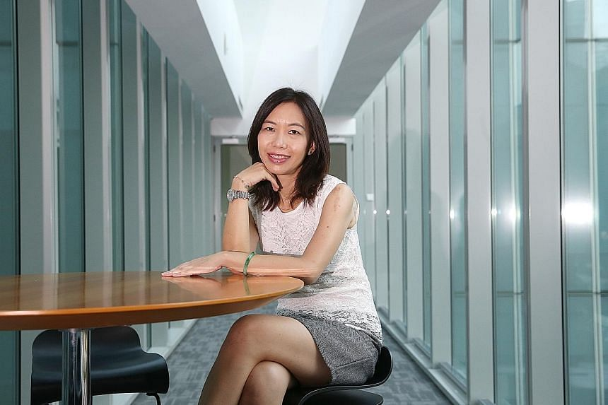 "Ms Serene Chan, a remisier at UOB Kay Hian, says there are now more challenges and opportunities in her industry. Technology has enabled her to reap ""to a certain extent the fruits of the buoyant stock markets in the US, Hong Kong and China""."