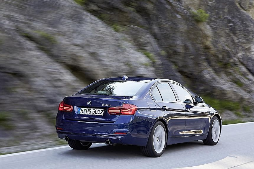 The BMW 3-series has been given a makeover that includes a new range of modular engines.