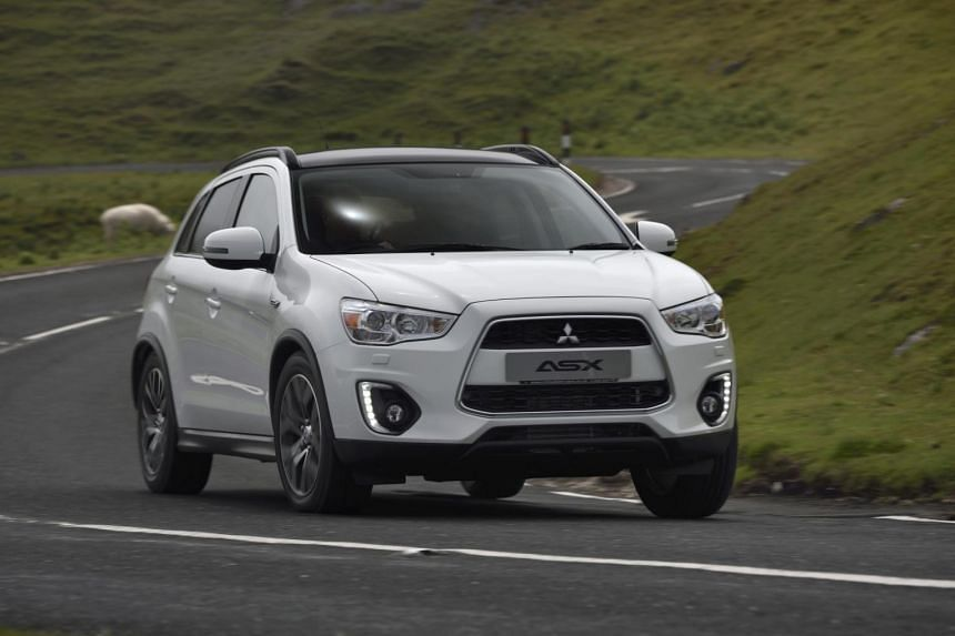 The new Mitsubishi ASX.