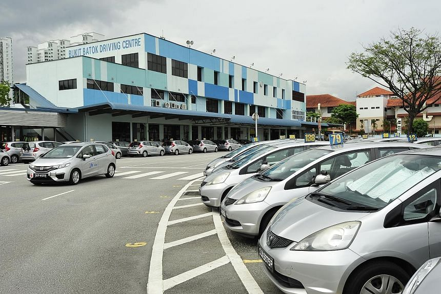 The Bukit Batok Driving Centre, which spans 30,000 sq m and has been at its current site since 1988, has three years left on its lease. Last year, over 14,000 students enrolled with the centre for automatic car lessons.