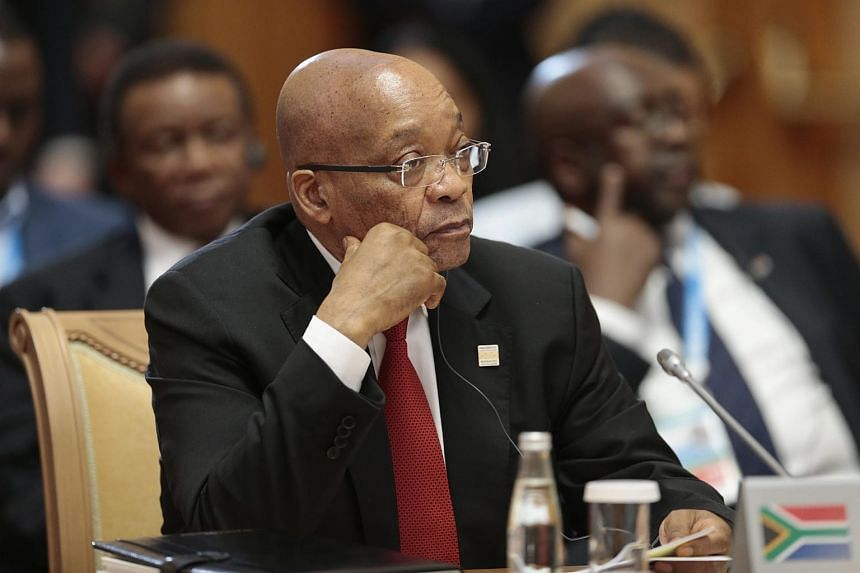 South African President Jacob Zuma was discharged from the hospital on Sunday, July 19, 2015, after a routine operation to remove gallstones.