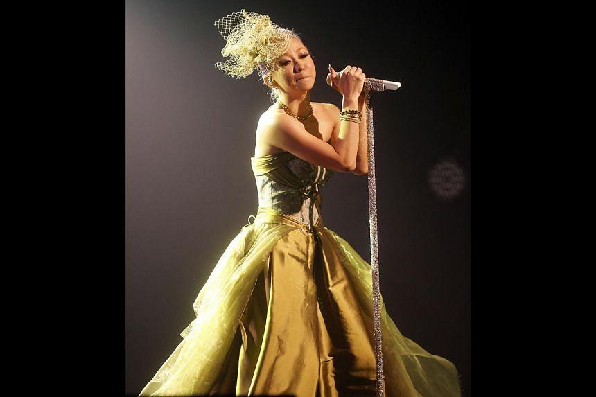 Japanese J-pop singer Koda Kumi.