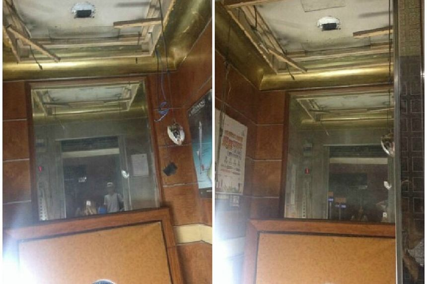 This lift fell 12 stories, injuring the 12 passengers in it.