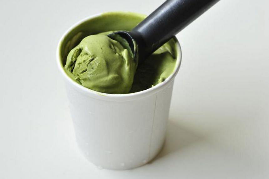 No-Churn Matcha Ice Cream.