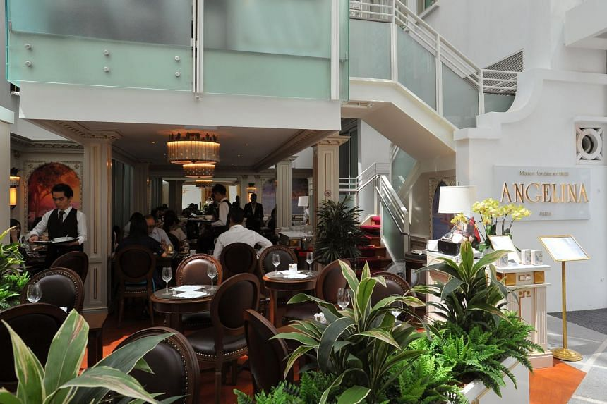 Capitol Piazza is home to eateries such as well-known Parisian tearoom Angelina.