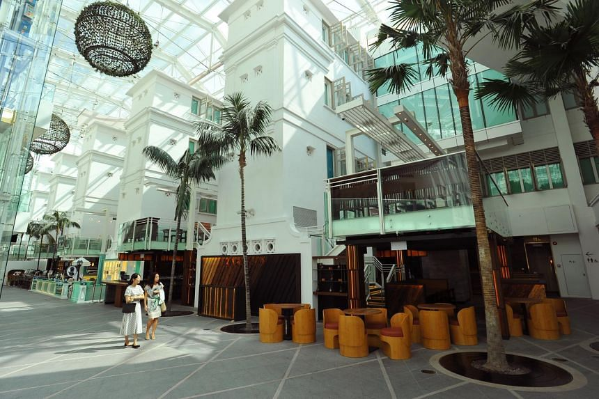 Capitol Piazza is home to eateries such as modern sake bar and restaurant Zaku.