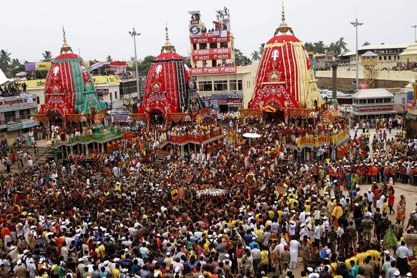 At least two women were killed and 20 people were injured in a stampede at a religious festival in the eastern Indian state of Odisha on Saturday. A police official said the stampede broke out when tens of thousands of devotees were pulling a chariot
