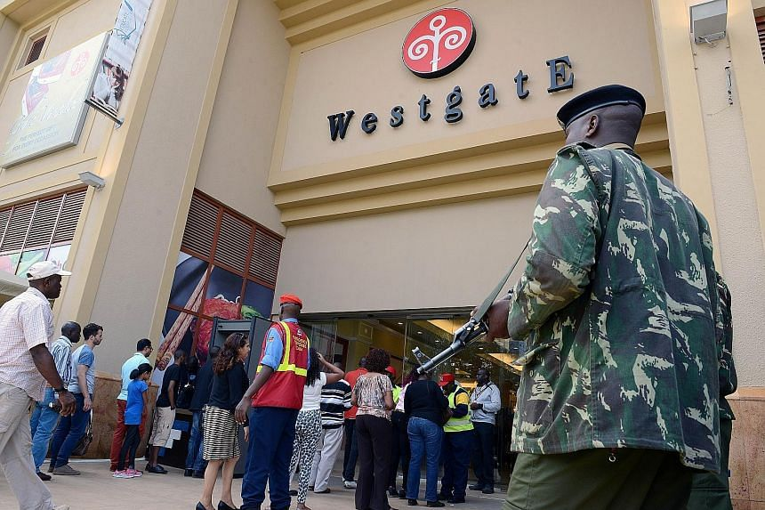 Kenya's Westgate shopping mall reopened last Saturday with stepped-up security, including armed police outside and plain-clothes private security guards inside. In September 2013, gunmen from the Somali militant group al-Shabaab massacred at least 67