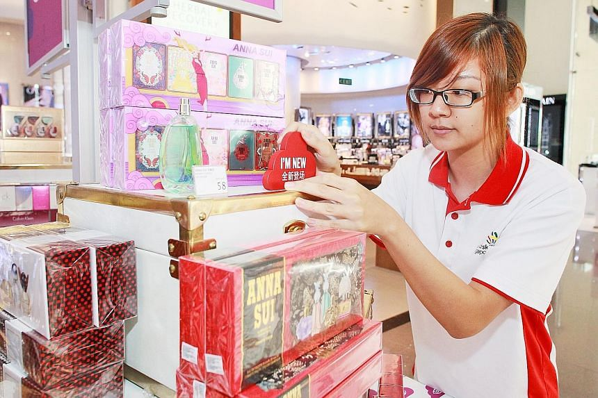 Ms Josephine Quek interned at DFS to help her prepare for the WorldSkills competition.