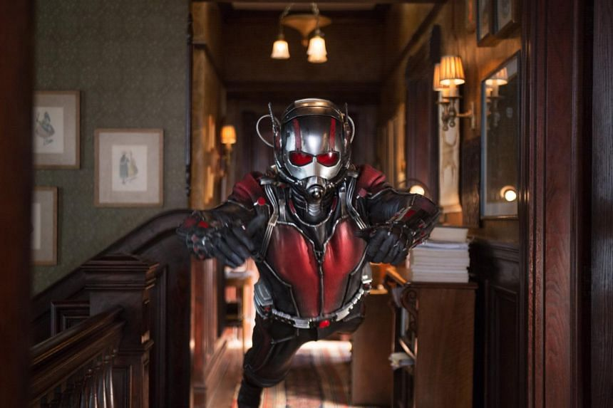 Ant-Man raked in US$58 million on its debut weekend to emerge top of the North American box office.