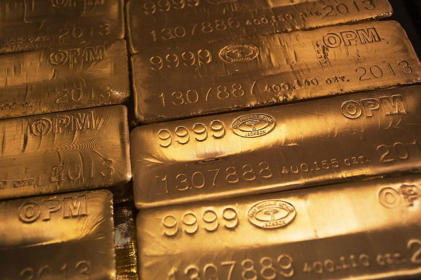 Gold retreated to the lowest level in more than five years, dropping for a sixth straight day.