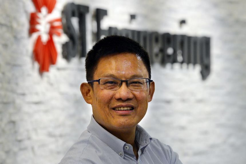 Mr Tan Pheng Hock, president and chief executive officer of ST Engineering.