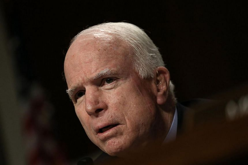 US senator John McCain (above) has responded to Donald Trump's controversial comments.