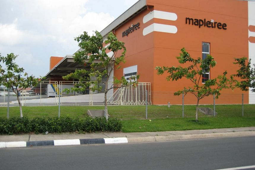 File picture of a Mapletree Logistics Centre. PHOTO: SPH